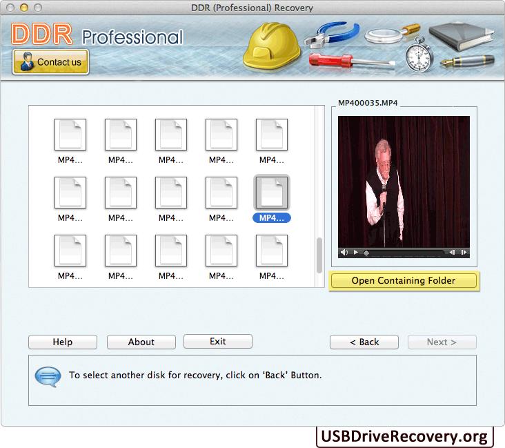 Mac Recovery Software – Professional screenshots data